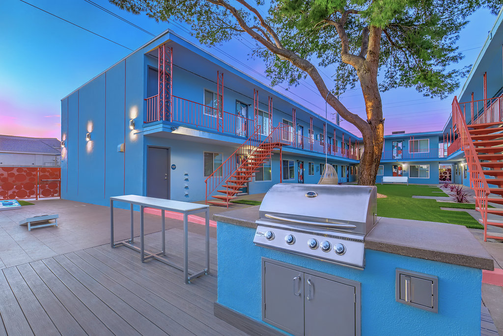 The Neon Apartments
