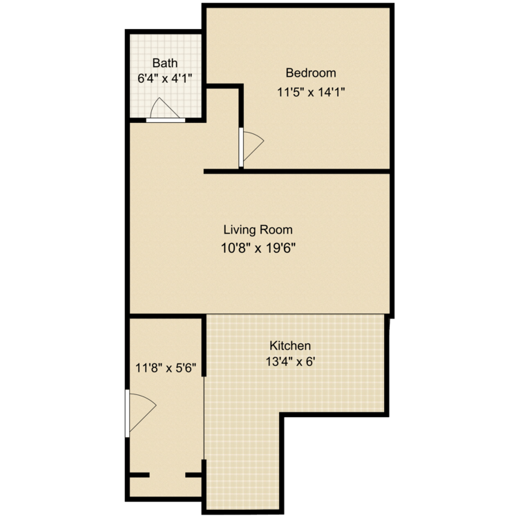 1 Bedroom 1 Bathroom Apartment for rent at Grant House in South Berwick, ME