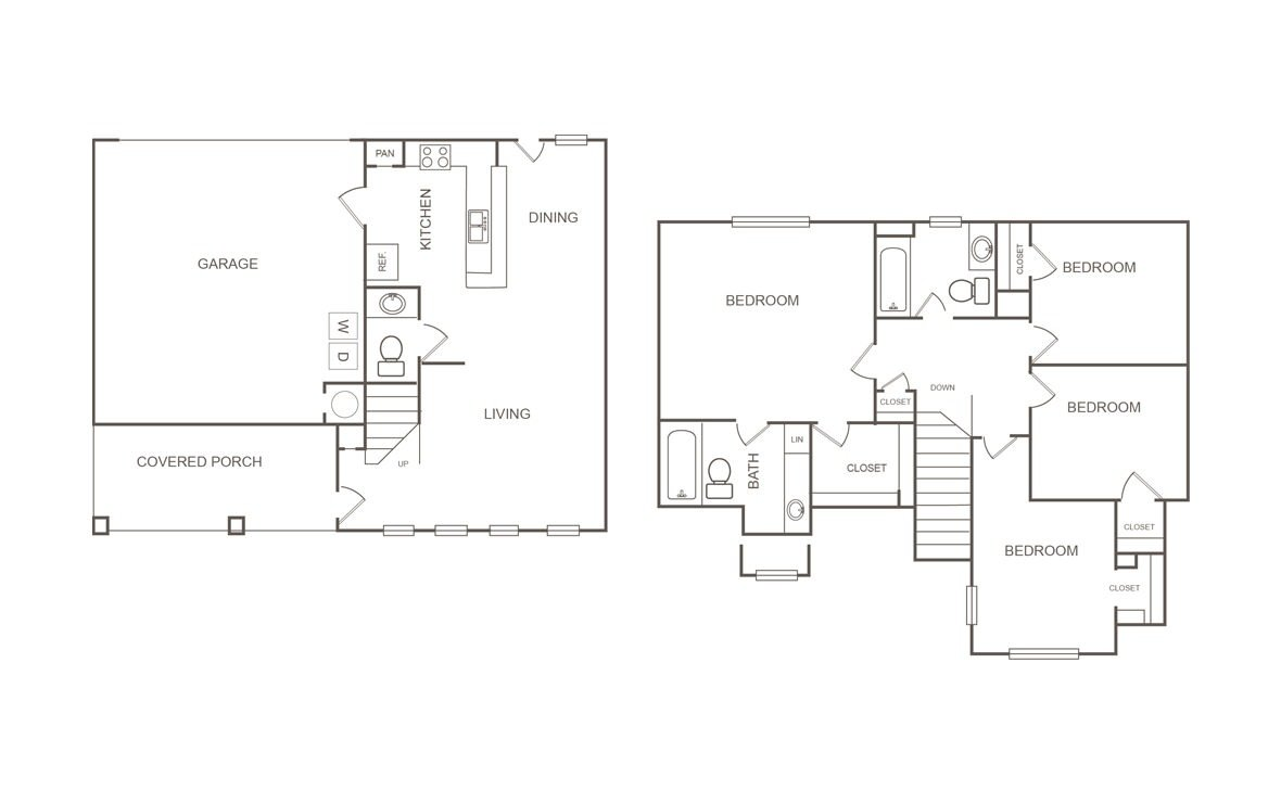 4 Bedrooms 2 Bathrooms Apartment for rent at Parkway Ranch in Houston, TX