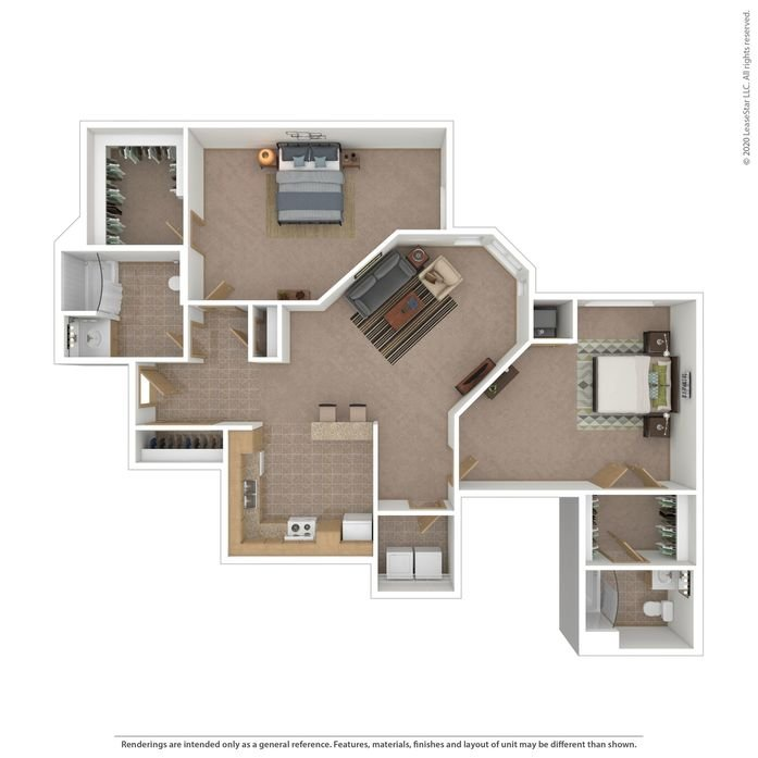 2 Bedrooms 2 Bathrooms Apartment for rent at University Village in Minneapolis, MN