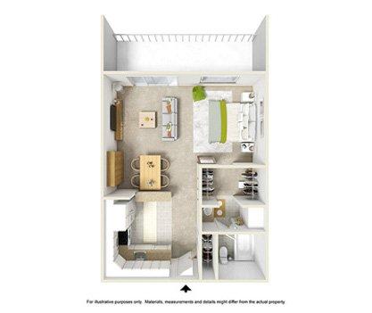 1 Bedroom 1 Bathroom Apartment for rent at Lakewood Apartments At Lake Merced in San Francisco, CA