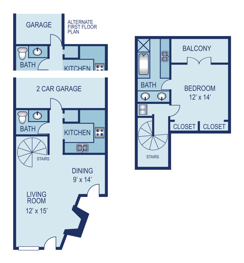 1 Bedroom 1 Bathroom Apartment for rent at AXIO Apartments in San Antonio, TX