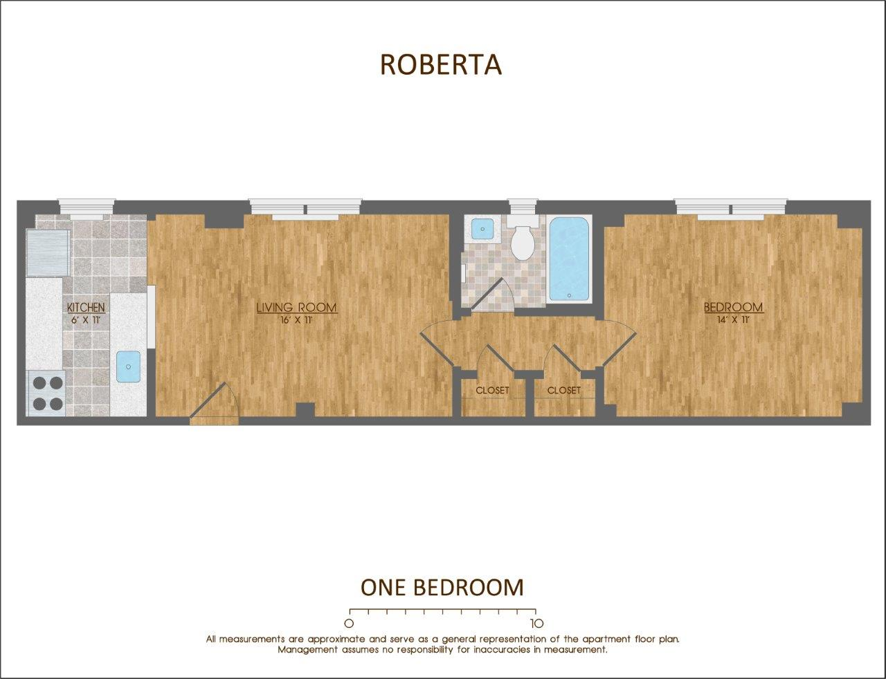 The Roberta for rent