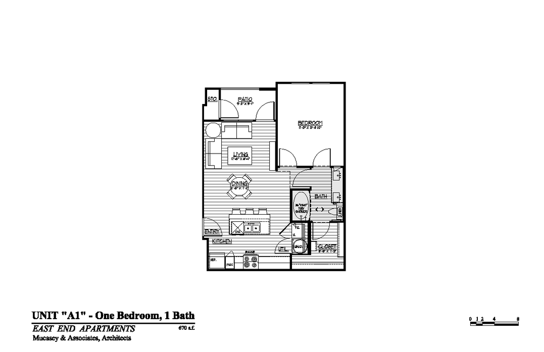 1 Bedroom 1 Bathroom Apartment for rent at Magnolia Park in Houston, TX
