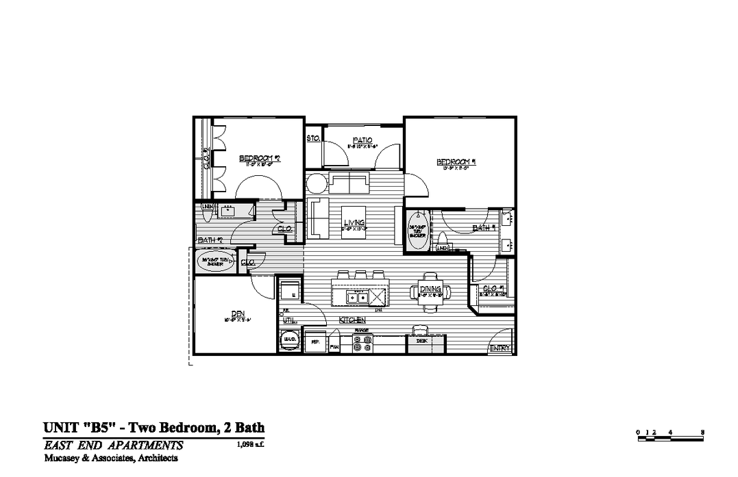2 Bedrooms 2 Bathrooms Apartment for rent at Magnolia Park in Houston, TX