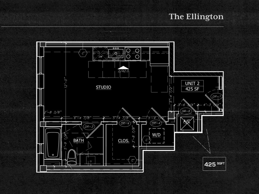 Studio 1 Bathroom Apartment for rent at The Argyle in Dallas, TX