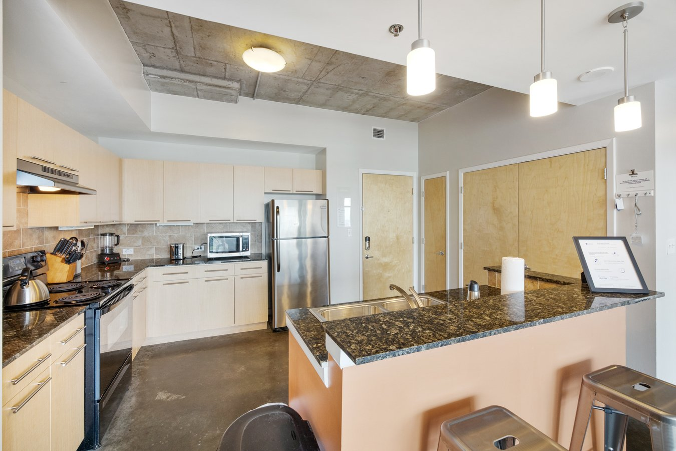 2 Bedrooms 2 Bathrooms Apartment for rent at Kasa Austin 2nd Street Furnished Apartments in Austin, TX
