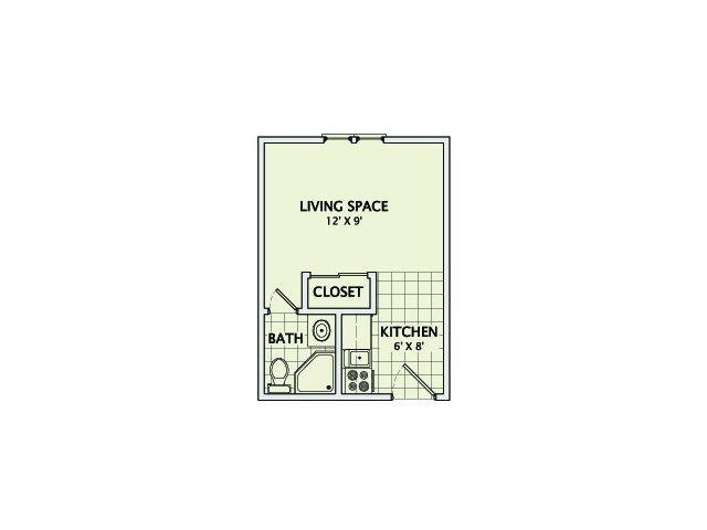 Studio 1 Bathroom Apartment for rent at Healey Street in Champaign, IL