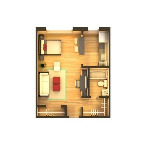 Studio 1 Bathroom Apartment for rent at 880 & 890 Dexter in Denver, CO