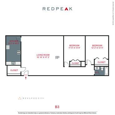 1 Bedroom 1 Bathroom Apartment for rent at 777 Ash in Denver, CO
