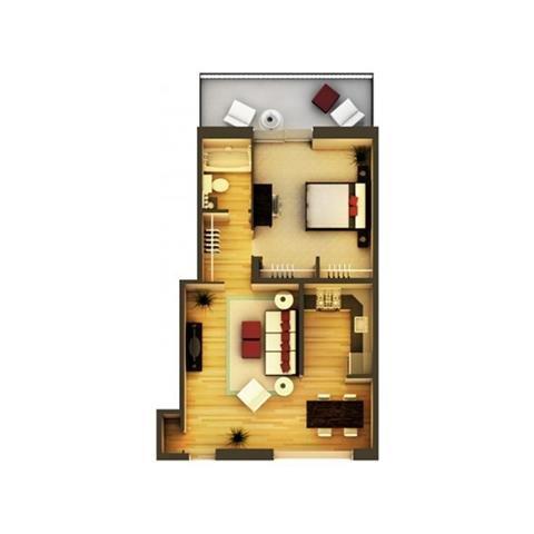 1 Bedroom 1 Bathroom Apartment for rent at 825 Dahlia in Denver, CO