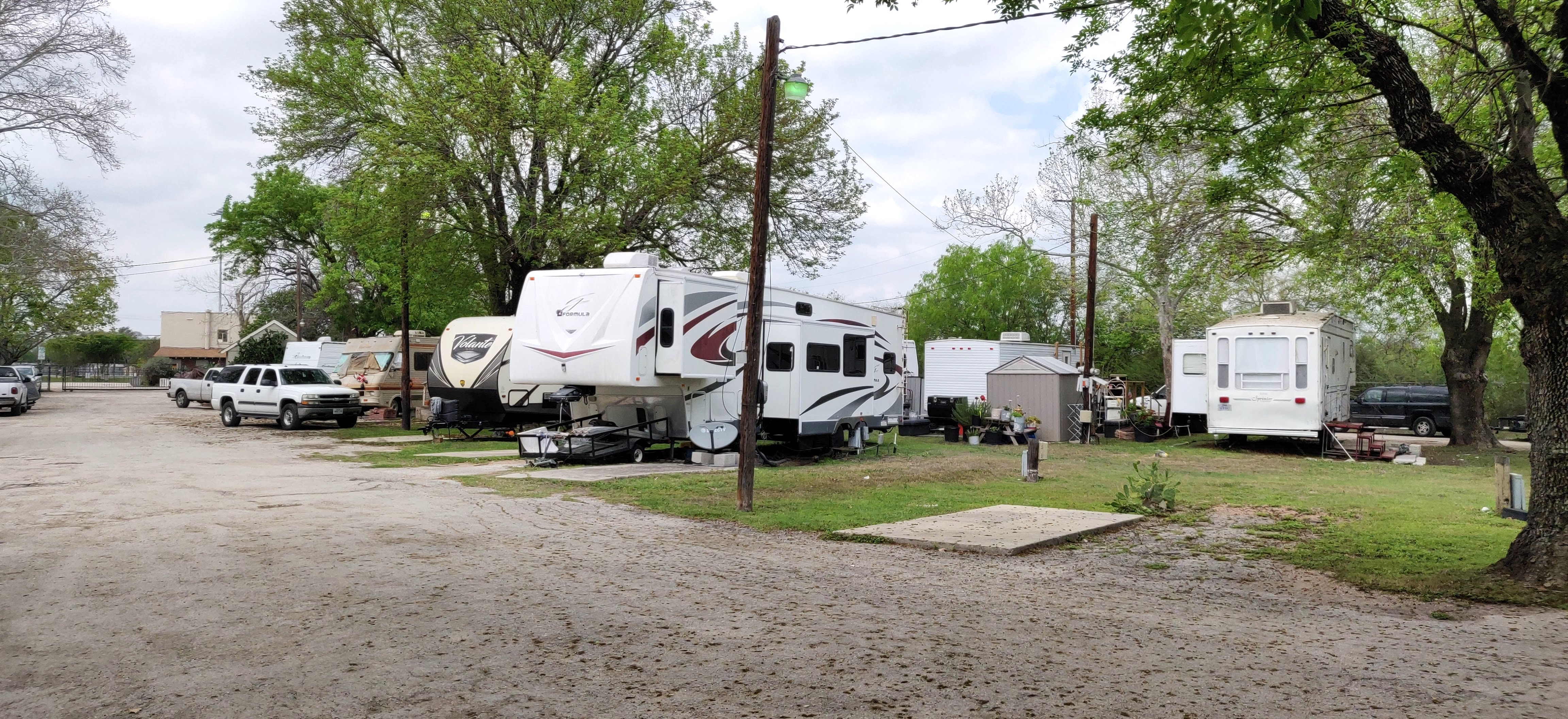 Lackland Mobile Home and RV Park - RV LOTS FOR RENT ONLY for rent