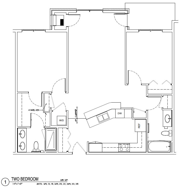2 Bedrooms 2 Bathrooms Apartment for rent at Metro View Apartments in Madison, WI
