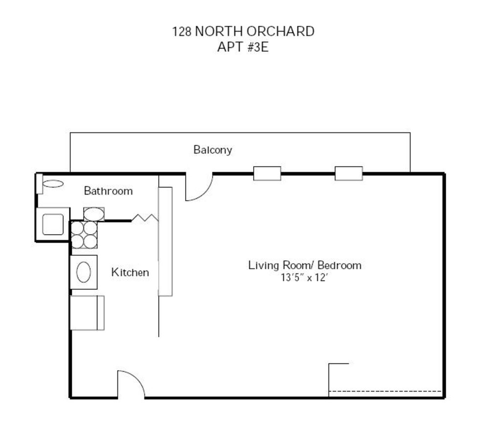 Studio 1 Bathroom Apartment for rent at 120-128 N Orchard Street in Madison, WI