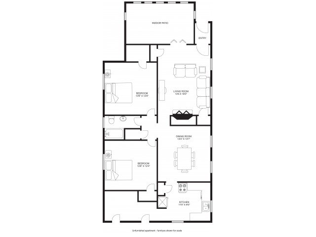 2 Bedrooms 1 Bathroom House for rent at Kendall Row in Madison, WI
