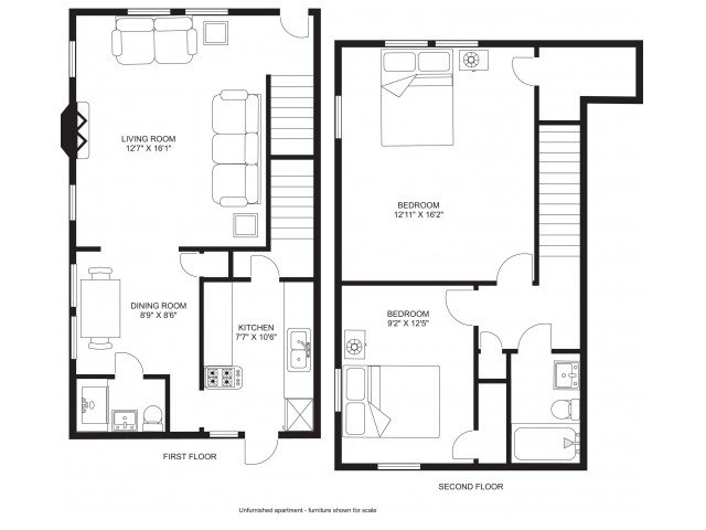 2 Bedrooms 2 Bathrooms House for rent at Kendall Townhouse in Madison, WI