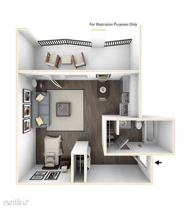 Studio 1 Bathroom Apartment for rent at 400 Maynard Apartments in Ann Arbor, MI