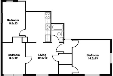 3 Bedrooms 1 Bathroom House for rent at 615 N Henry St in Madison, WI