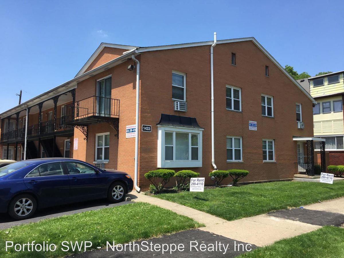 1 Bedroom 1 Bathroom Apartment for rent at 1433-1437 Highland St in Columbus, OH