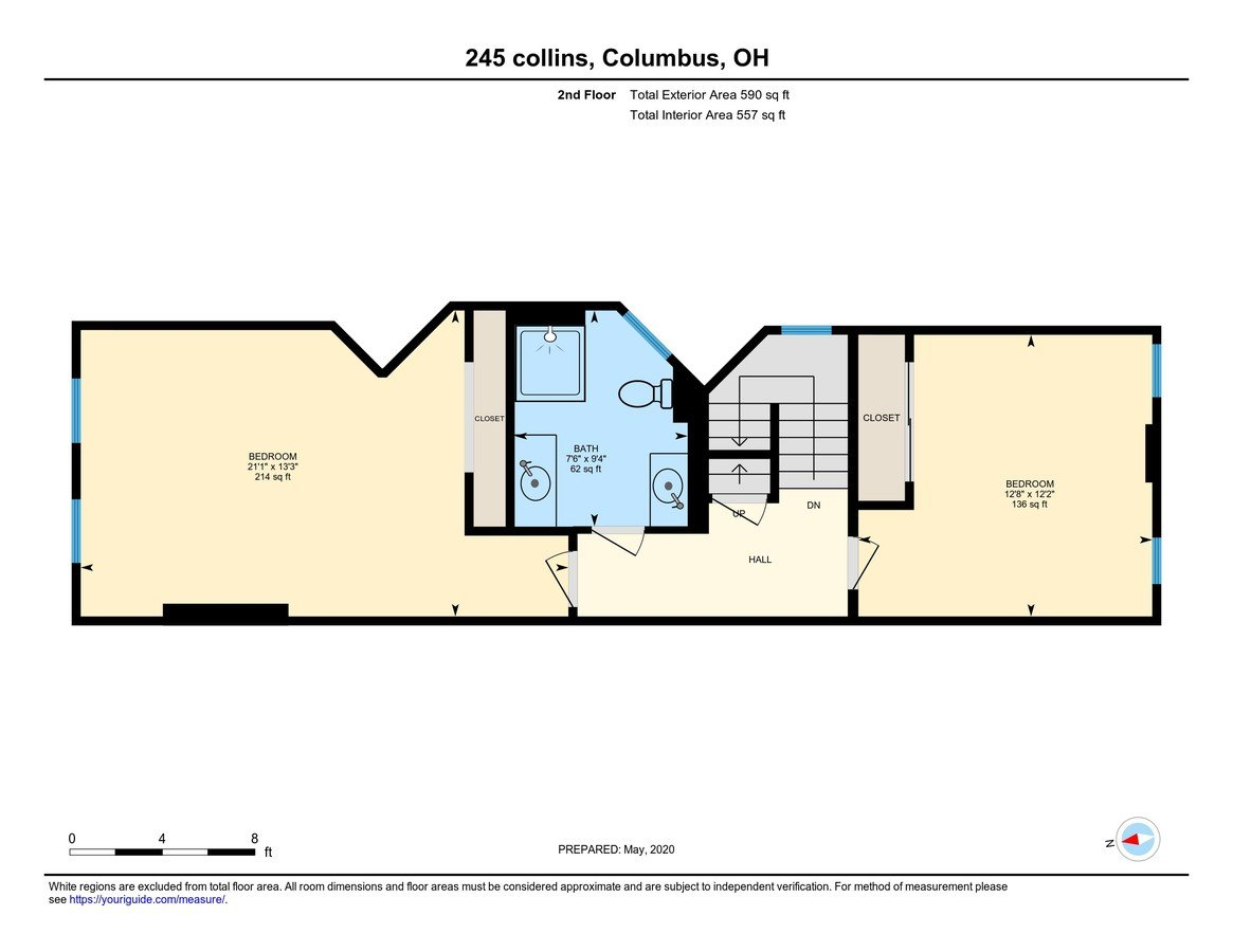 4 Bedrooms 2 Bathrooms House for rent at 245 Collins Ave in Columbus, OH