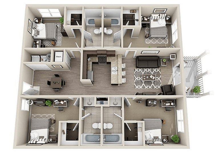 Coastal Club Student Apartments Conway Sc