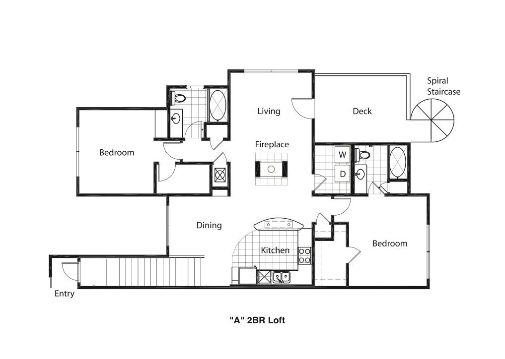 2 Bedrooms 2 Bathrooms Apartment for rent at Cityview Lofts in North Kansas City, MO