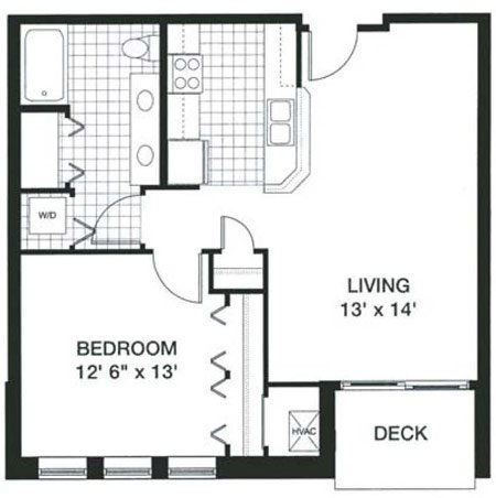 1 Bedroom 1 Bathroom Apartment for rent at Kennedy Place in Madison, WI