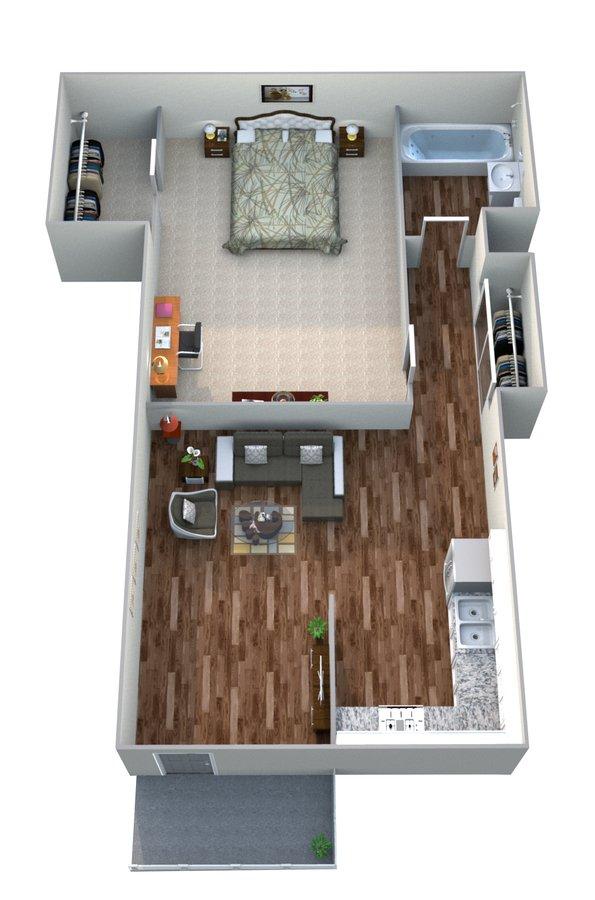1 Bedroom 1 Bathroom Apartment for rent at Mesa Vista Apartment Homes in San Diego, CA