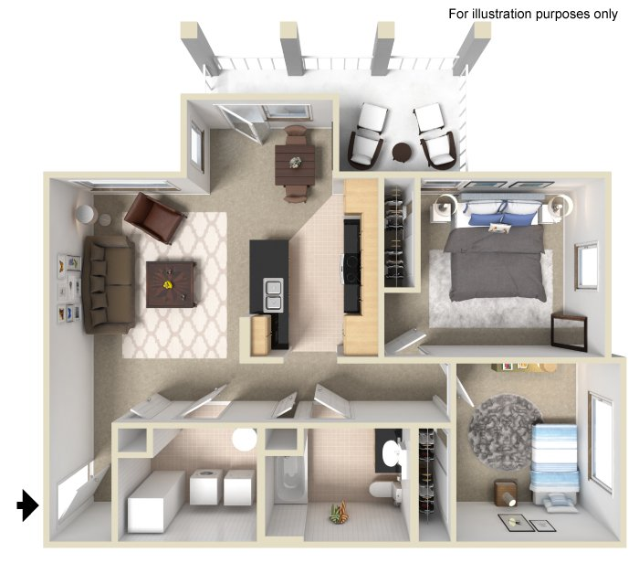 University Place Apartments Memphis Tn