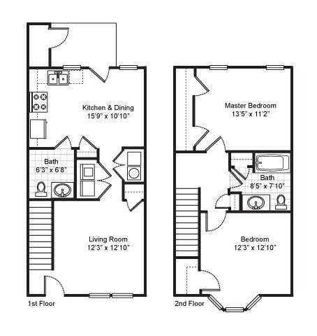 2 Bedrooms 1 Bathroom Apartment for rent at Fairfield Apartments in Pittsburgh, PA