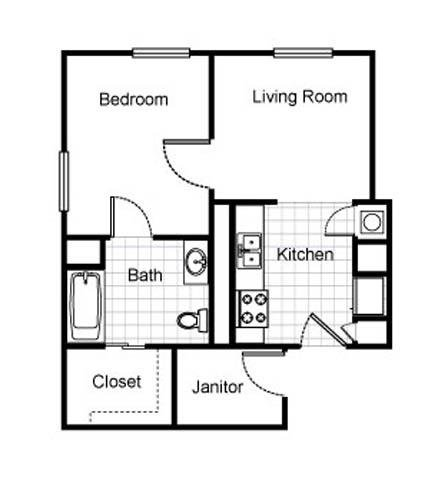 1 Bedroom 1 Bathroom Apartment for rent at The Railton Apartments in St Louis, MO