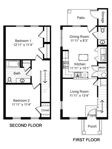 2 Bedrooms 1 Bathroom Apartment for rent at Renaissance Place at Grand Apartments in St Louis, MO