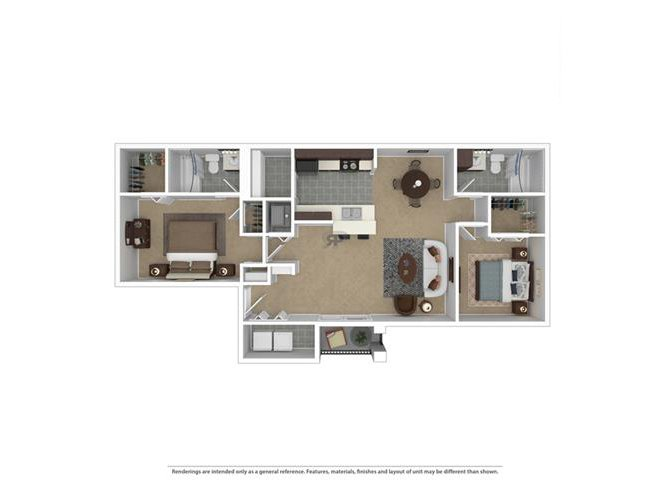 2 Bedrooms 2 Bathrooms Apartment for rent at Ashton at Richmond Hill in Richmond Hill, GA