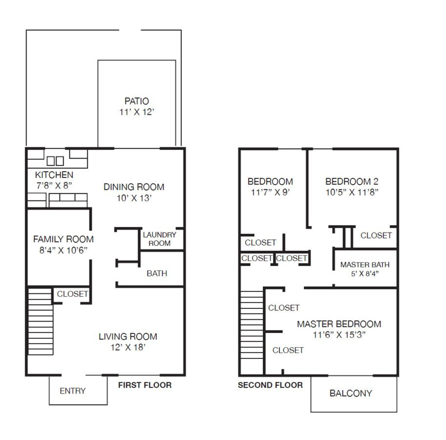 3 Bedrooms 1 Bathroom Apartment for rent at Westpark Townhomes in Indianapolis, IN