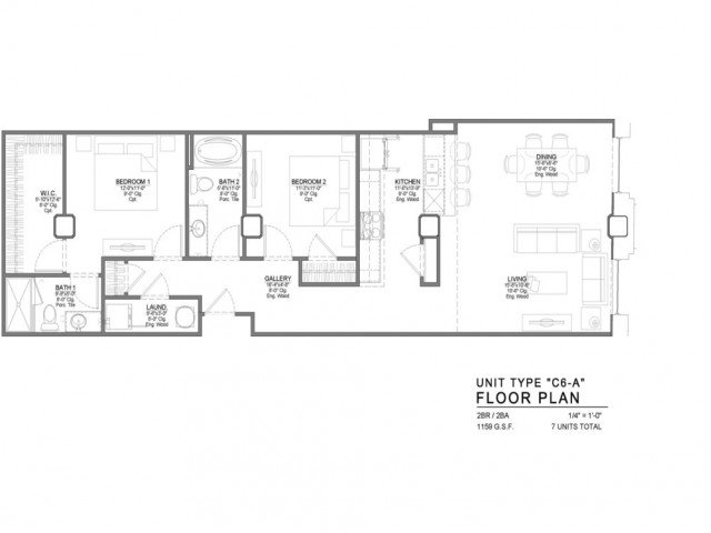 2 Bedrooms 2 Bathrooms Apartment for rent at Power & Light KC Apartments in Kansas City, MO