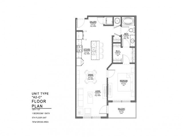 1 Bedroom 1 Bathroom Apartment for rent at Power & Light KC Apartments in Kansas City, MO