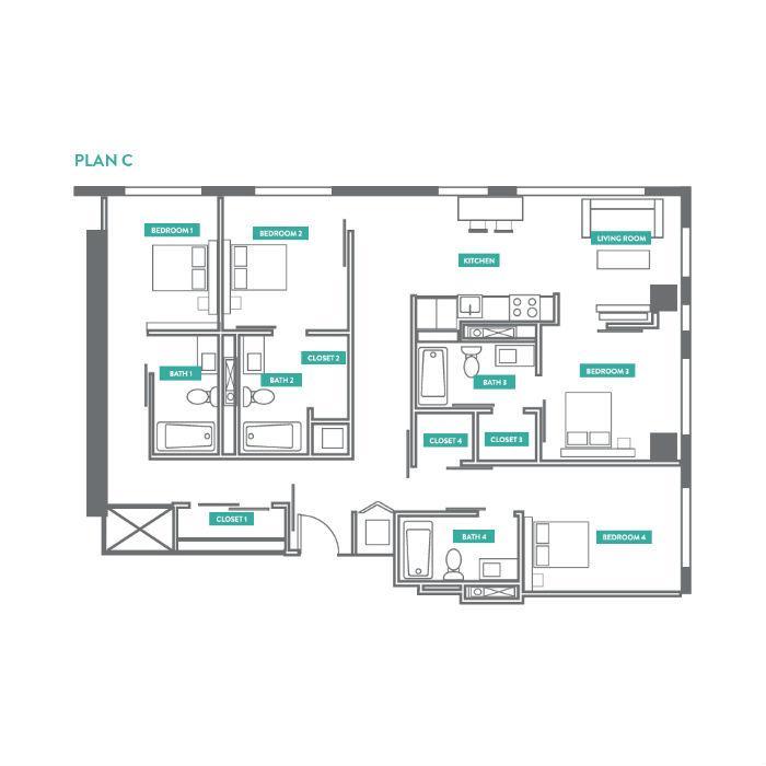 Evo Philly At Cira Centre South Apartments Philadelphia Pa