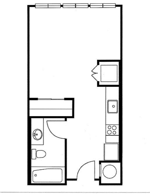 Studio 1 Bathroom Apartment for rent at Biltmore at Midtown in Atlanta, GA