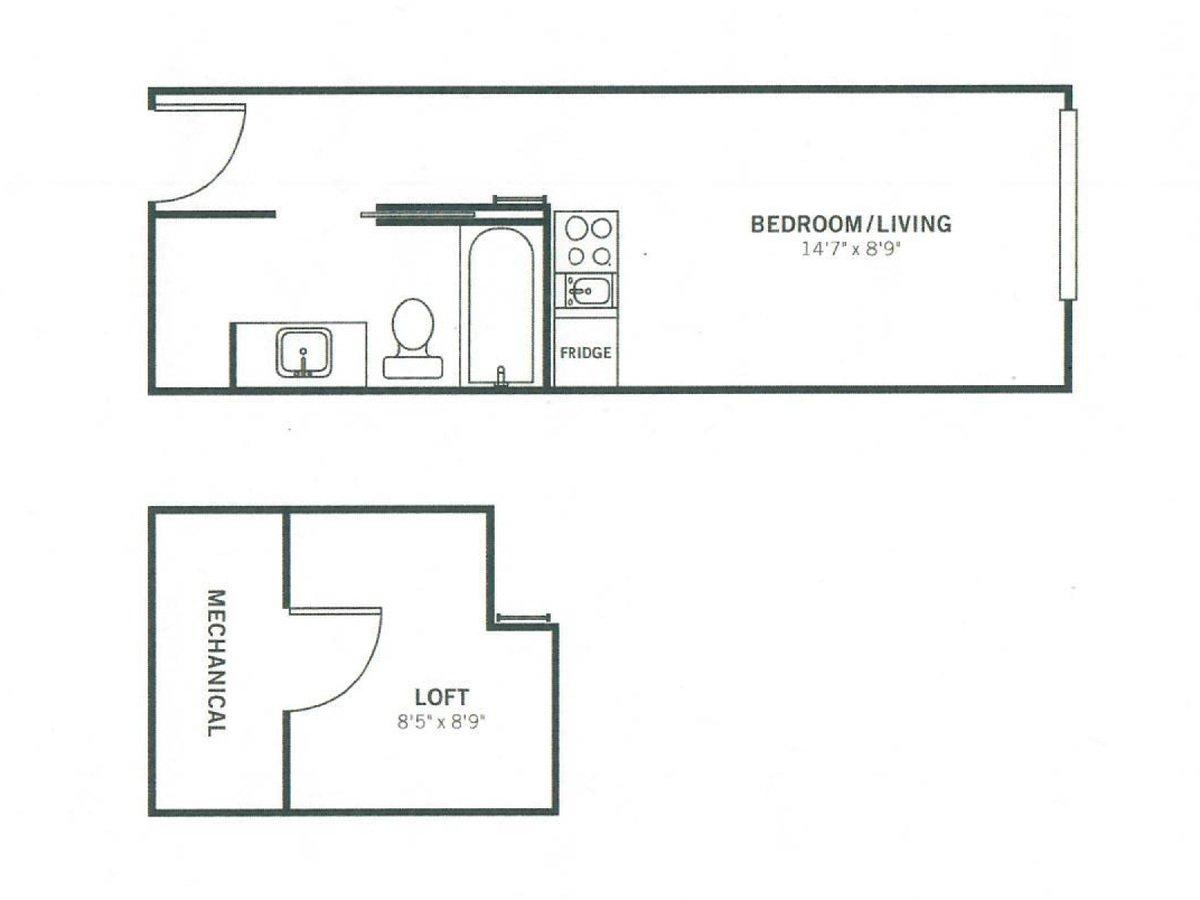 Studio 1 Bathroom Apartment for rent at Meeting Street Lofts in Charleston, SC