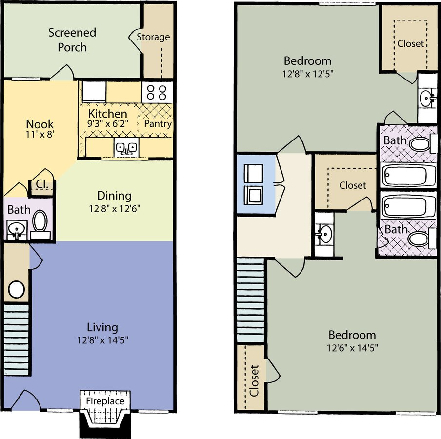 2 Bedrooms 2 Bathrooms Apartment for rent at ARIUM Trailwood in Raleigh, NC