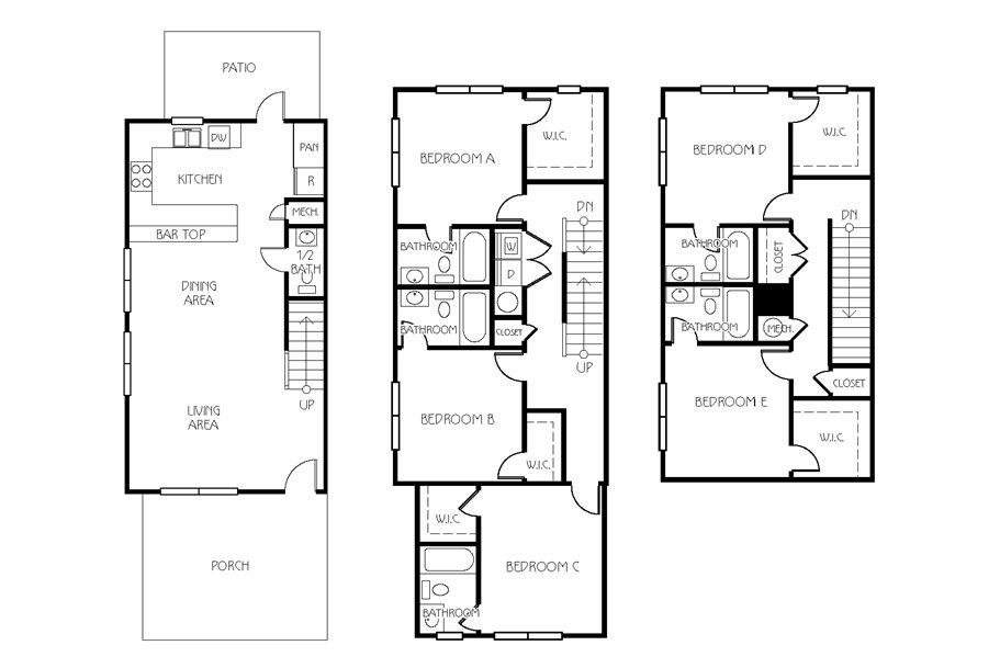 5 Bedrooms 4+ Bathrooms Apartment for rent at The Retreat At Corvallis in Corvallis, OR