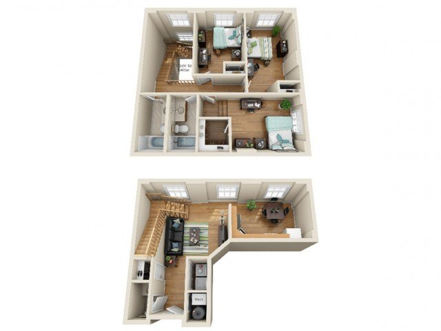3 Bedrooms 2 Bathrooms Apartment for rent at Coronado Place and Towers in St Louis, MO