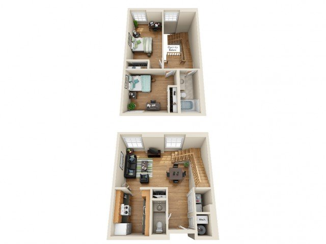 2 Bedrooms 1 Bathroom Apartment for rent at Coronado Place and Towers in St Louis, MO
