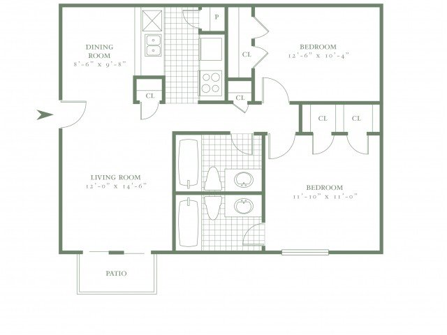 2 Bedrooms 2 Bathrooms Apartment for rent at The Village Bend East in Dallas, TX