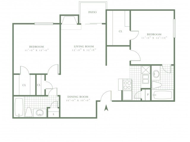 2 Bedrooms 2 Bathrooms Apartment for rent at The Village Cliffs in Dallas, TX