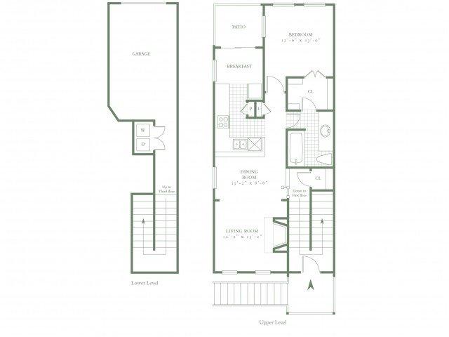 1 Bedroom 1 Bathroom Apartment for rent at The Village Northbridge in Dallas, TX