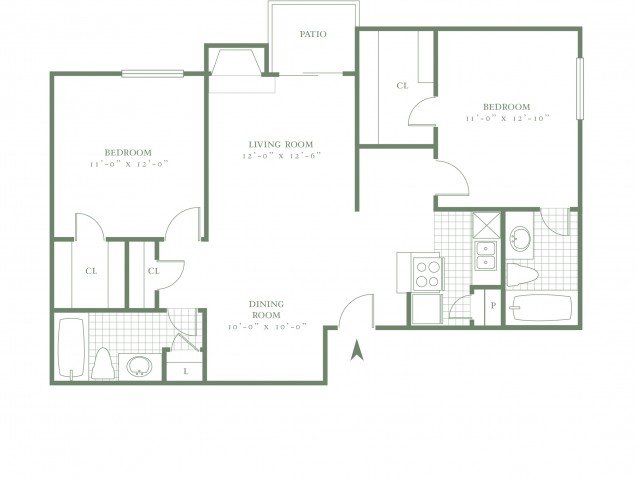 2 Bedrooms 2 Bathrooms Apartment for rent at The Village Meadow in Dallas, TX