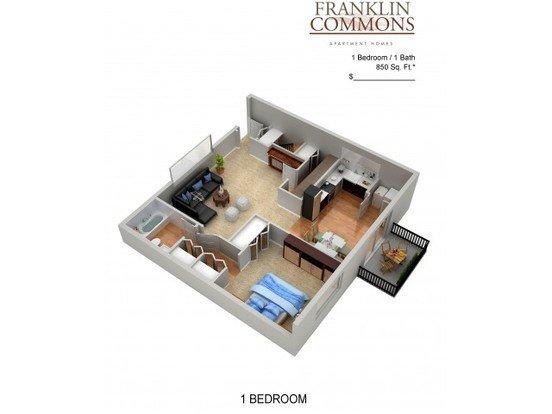 Franklin Commons Apartment Homes Apartments Bensalem Pa