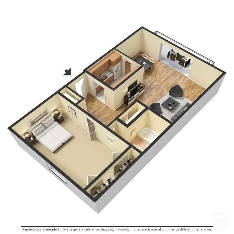 1 Bedroom 1 Bathroom Apartment for rent at Venue At Winter Park in Winter Park, FL