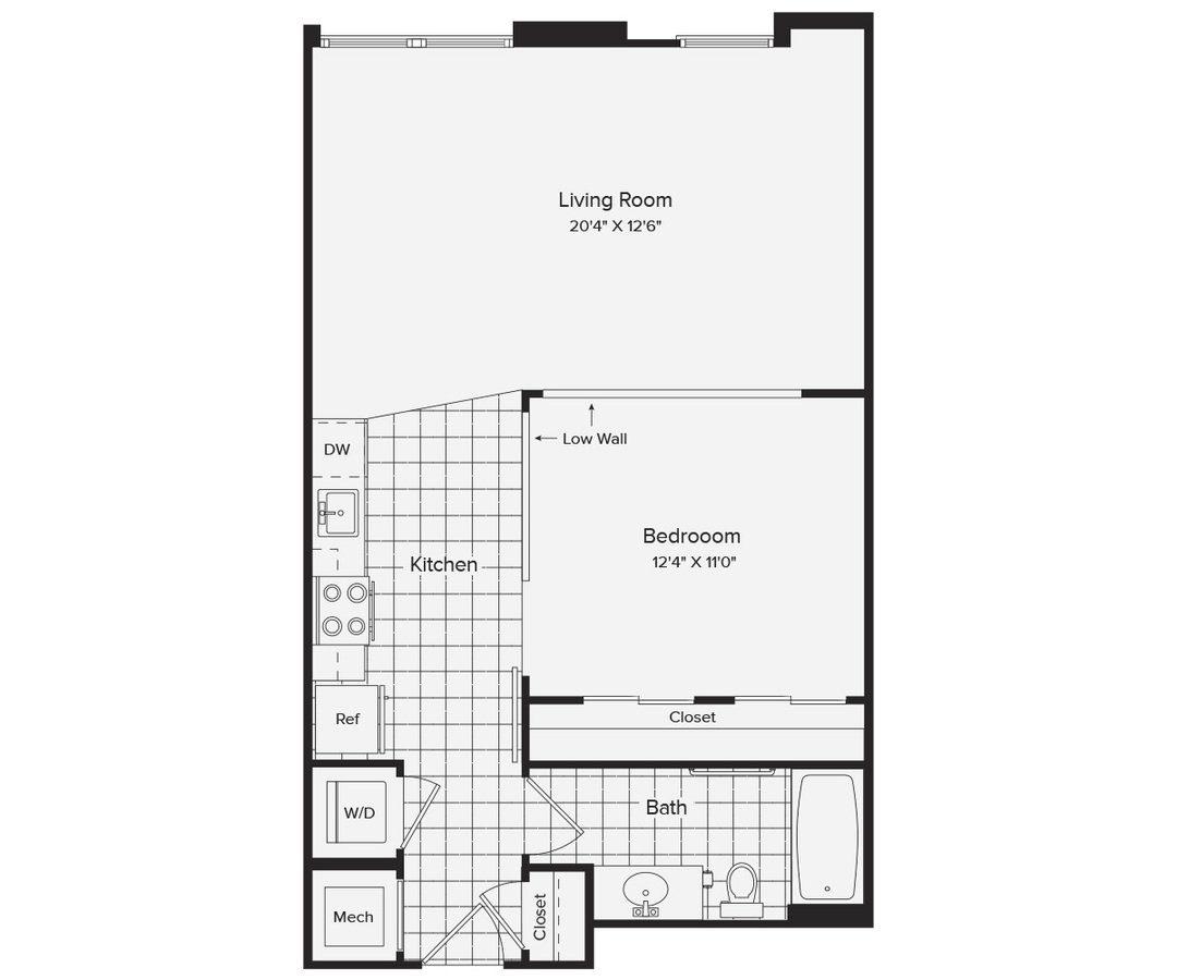 Studio 1 Bathroom Apartment for rent at Avalon Dunn Loring in Vienna, VA